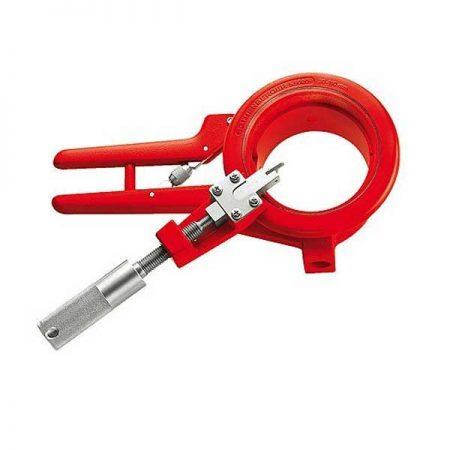 חותך צנרת פלסטיק PVC ידני לחיתוך היקפי ויצירת פאזה רוטנברגר דגם: ROCUT 110