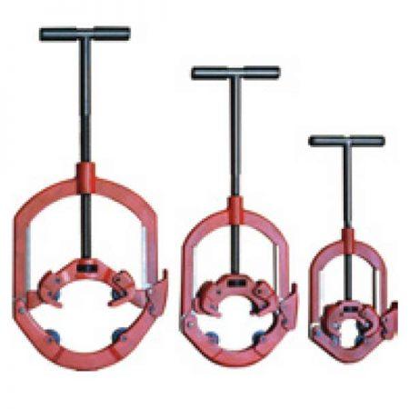 חותכי צינורות ברזל סגורים 4 להבים