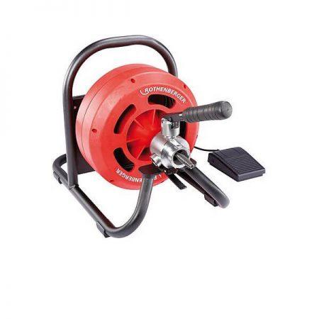 """מכשיר חשמלי לפתיחת סתימות עם הזנה אוטומטית עד """" 4 דגם: RODRUM-S"""